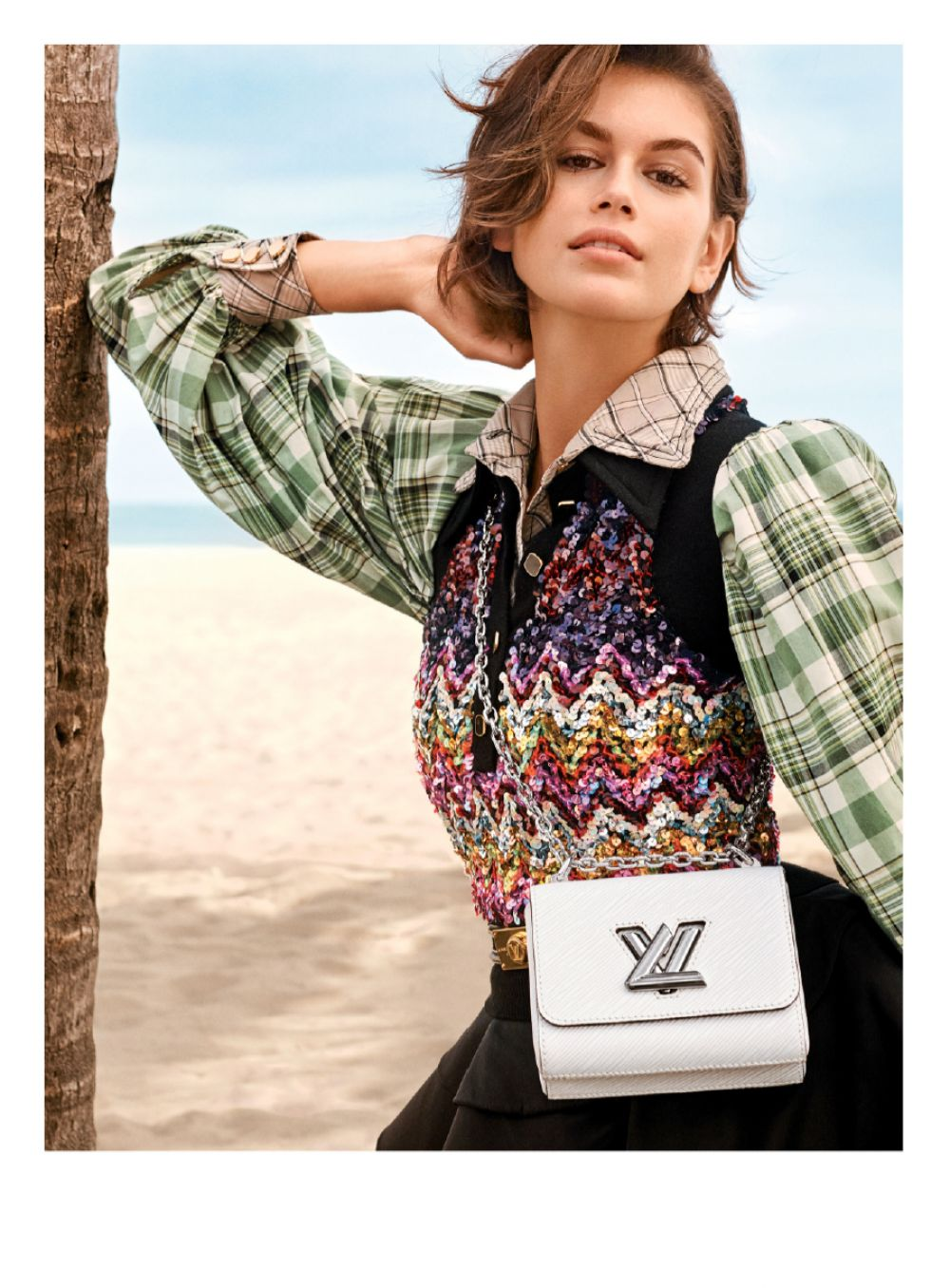 Kaia Gerber for Louis Vuitton Twist Bags for Spring 2020 Campaign 5