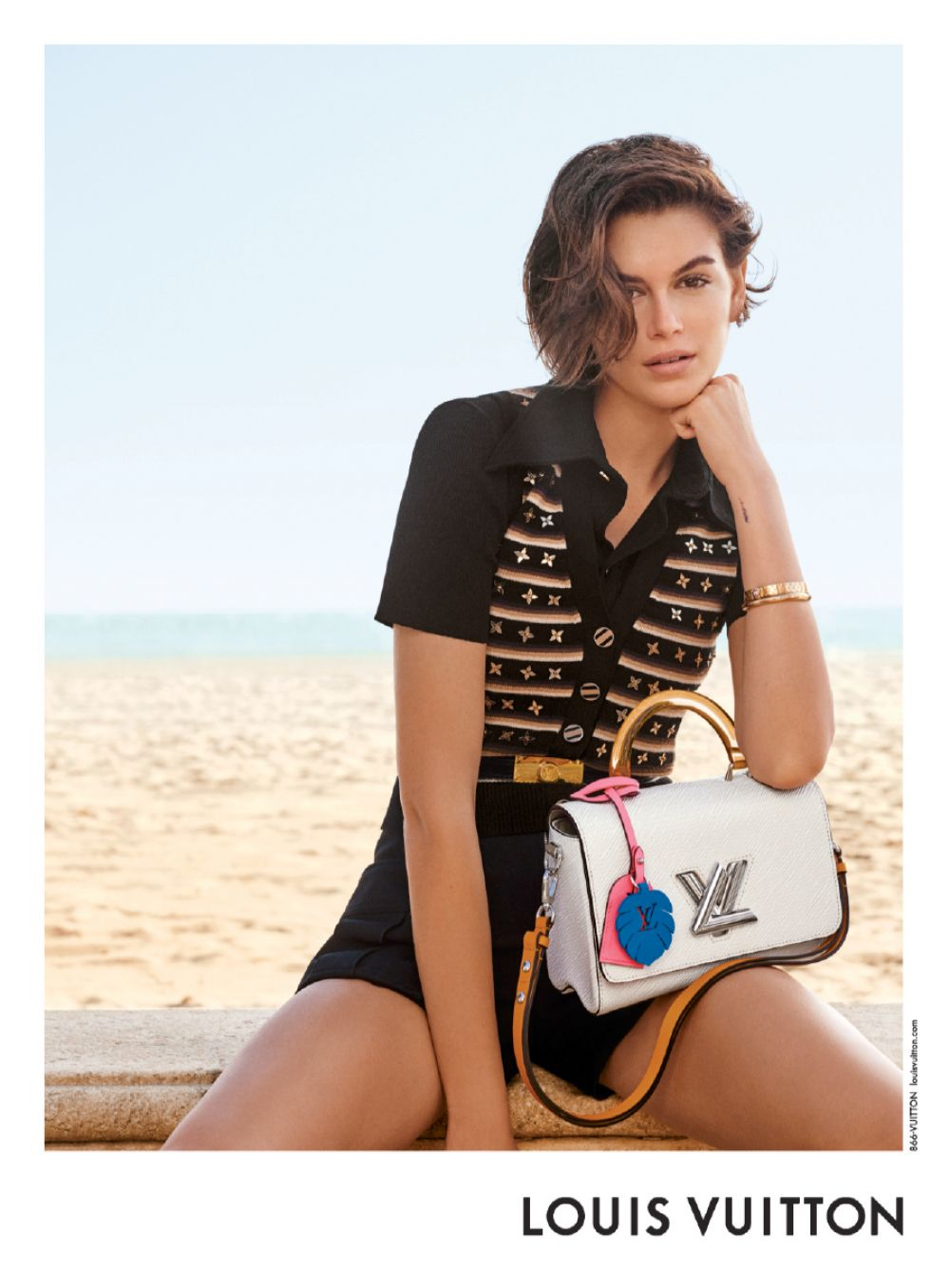 Kaia Gerber for Louis Vuitton Twist Bags for Spring 2020 Campaign 4