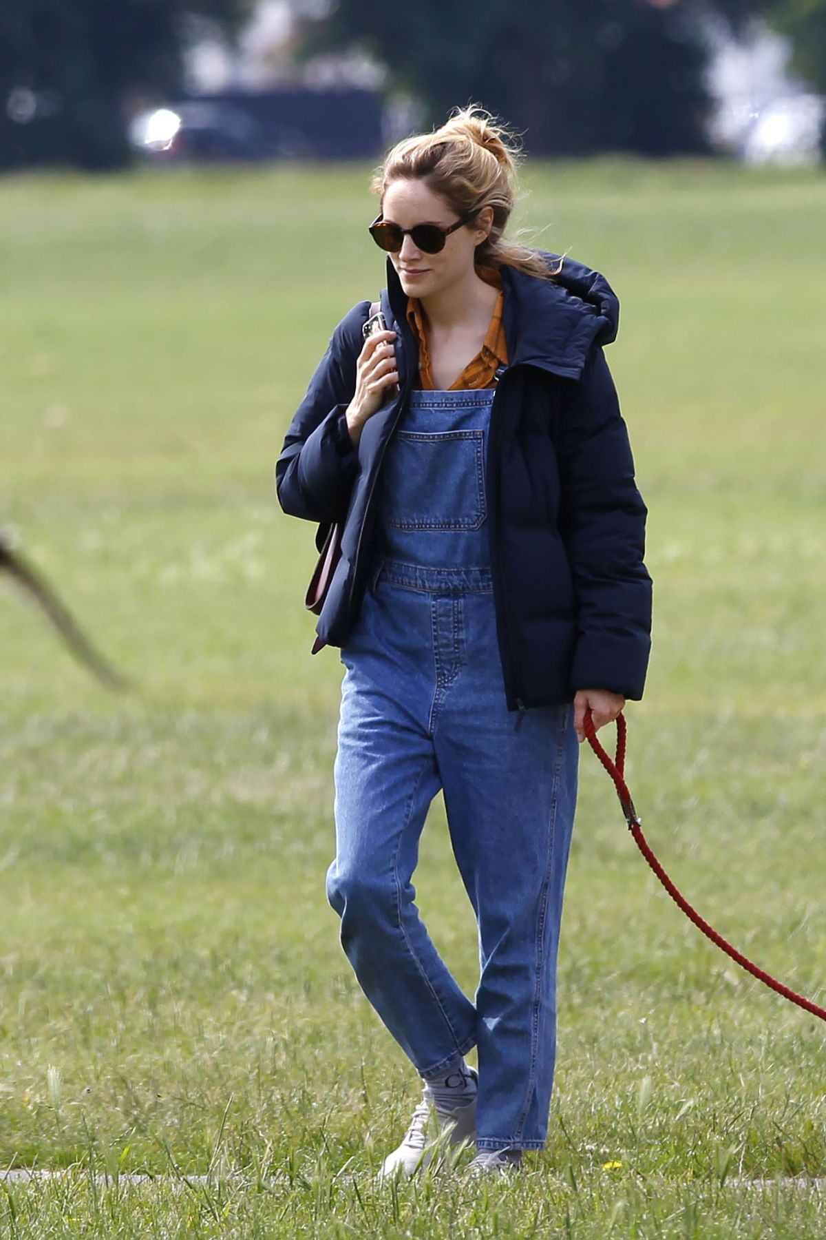SOPHIE RUNDLE on the Set of New BBC1 Thriller, The Nest in Glasgow 09/18/2019 - Сelebs of World
