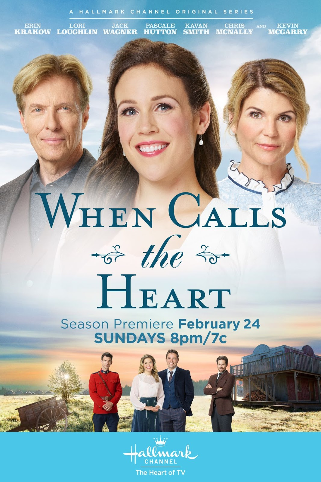 Erin Krakow – When Calls the Heart, Season 6, Poster, Stills and Trailer 0